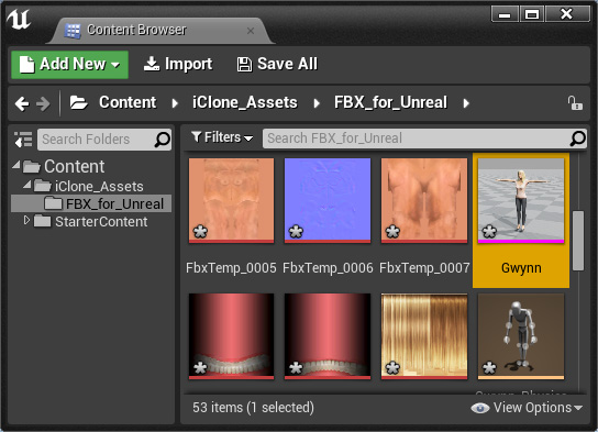Converting Assets to Unreal