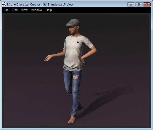 Character Creator Online Manual - 3D Viewer