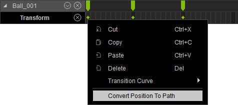 Converting Animation Keys to Path